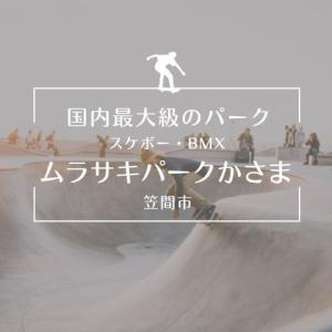 笠間にスケートパーク登場!笠間芸術の森公園内に国内最大級のスケート広場!スクール情報も