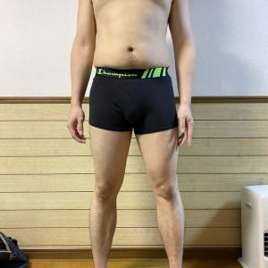 後ろ姿初公開 kiyoの筋トレ・ダイエット記録16日目