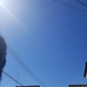 快晴で最高の天気はかどる運動!30代1ヵ月-3kgチャレンジ【19日目】
