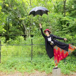【梅小路公園】鳥みたいに自由に空を飛ぶ方法<空を飛ぼう会>