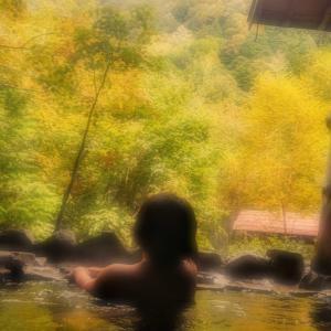 温泉♨️へ