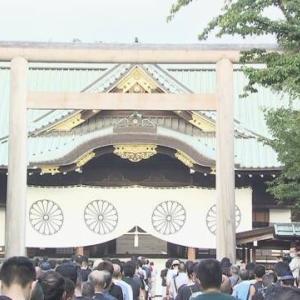 安倍元首相、退任後二度目の靖国神社参拝
