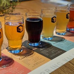 【代官山ランチ】昼からクラフトビールの飲み比べ スプリングバレーブルワリー 東京