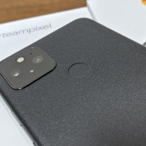 Google Pixel5 レビュー (購入1日目:同封物・見た目など)