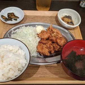 【横浜・関内】唐揚げ定食のランチが激安のワンコイン。村木屋 関内店