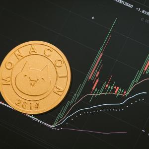 仮想通貨の残高(8月中旬)
