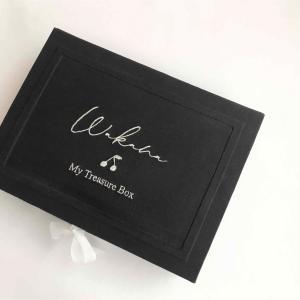 【カルトナージュ作品】思い出をひとつの箱に、メモリアルボックス