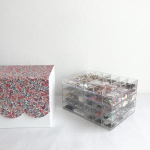 【カルトナージュ】マグネット留めの箱