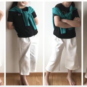 半端丈の子供用パンツを作りました