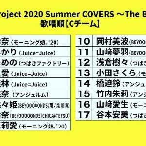 Hello! Project 2020 Summer COVERS 〜The Ballad〜 大阪7/19(日)Cチーム
