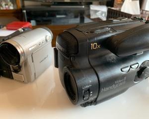 20年前に撮影した8ミリビデオテープをDVDににしました