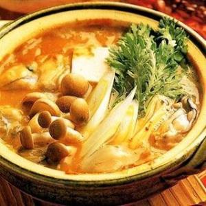 広島  牡蠣の土手鍋