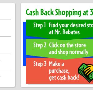 オンラインショッピングでキャッシュバック