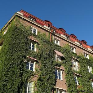 ストックホルム 「眠りの森の美女」の城のようなマンション