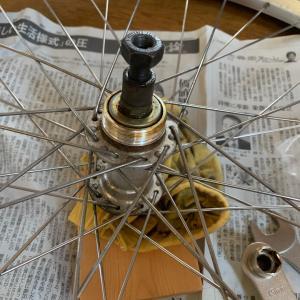 古い自転車を修理します⑥