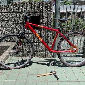 古い自転車を修理します⑤ ボスフリースプロケット?