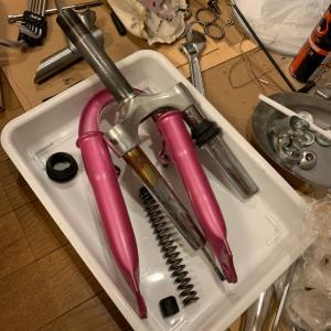 レストア・ザ・バイシクル⑤ 自転車レストア・分解と洗浄