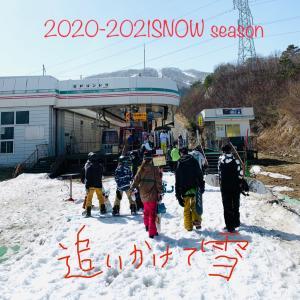 2021年春    追いかけて...雪...