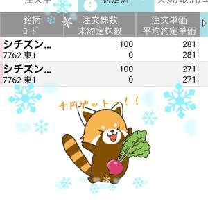 昨日は100円、今日は1,000円‼やったぁ‼欲を抑えて地味トレね(´-ω-`)