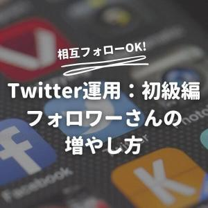 【新版】Twitterのフォロワーさんの増やし方・初級編 相互フォローOK