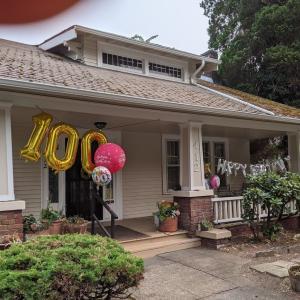 Aさん、100歳おめでとう