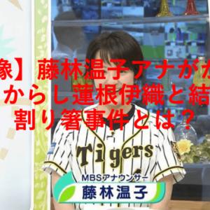 【画像】藤林温子アナがかわいい!からし蓮根伊織と結婚!割り箸事件