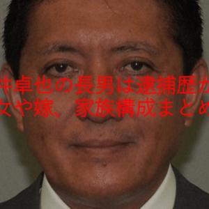 平井卓也の長男は逮捕歴が?長女や嫁、家族構成まとめ!