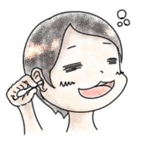 耳垢(あか)がベトベトしているが大丈夫?