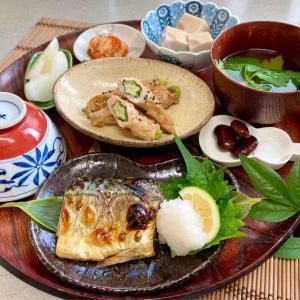 アフター台風定食といつもの毎日定食☆毎日食堂/おうちごはん