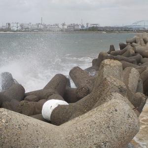 2021/04/18 加古川尻 ヘチ釣り