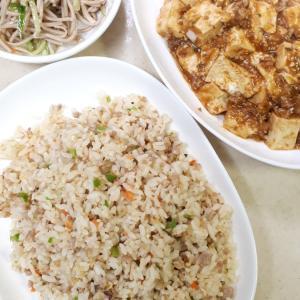 10月23日の夜ご飯ー麻婆豆腐とリメイク