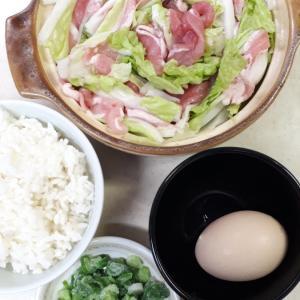 10月28日の夜ご飯ーミルフィーユ鍋?