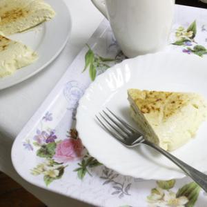 チーズケーキ制作