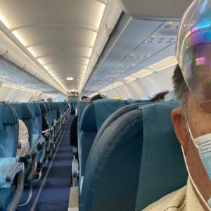 搭乗から到着まで