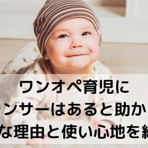ワンオペ育児にバウンサーはあると助かる!便利な理由と使い心地を紹介♪