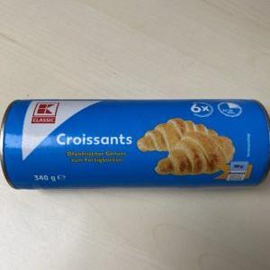 【ドイツのスーパー】缶詰クロワッサンを買ってみた