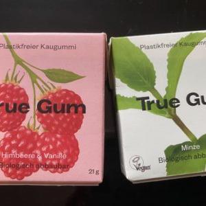 今日はいくつプラスチックを噛みましたか?デンマーク発のプラスチックフリー植物由来のガム、True Gum