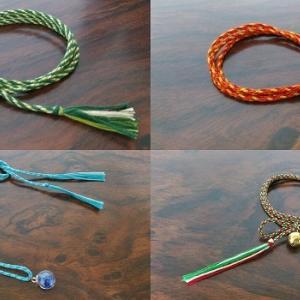 伝統的工芸品「組紐」の基礎知識、結び方、飾り結びの種類などを解説。