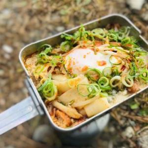 包丁もまな板も使わない!メスティンを使ったお野菜たっぷりで温かい冬のソロキャンプ飯
