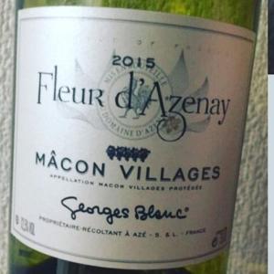 Macon Villages Fleur d'Azenay de Georges Blanc (マコン・ヴィラージュ フルール・ダズネイ・ド・ジョルジュ・ブラン)