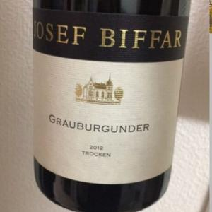 Josef Biffar Grauburgunder  trocken (ヨーゼフ・ビファー グラウブルグンダー トロッケン)
