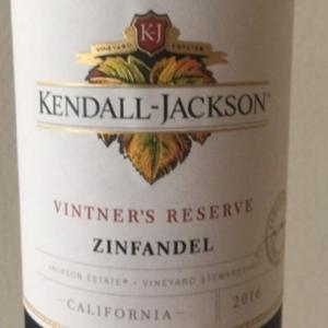 ワイン名/Kendall Jackson Vintner's Reserve Zinfandel (ケンダル・ジャクソン ヴィントナーズ・リザーヴ ジンファンデル)