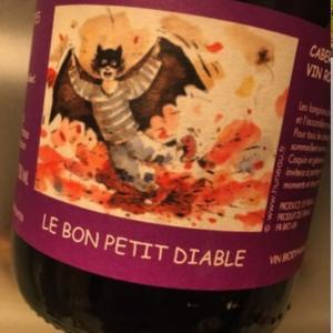 Les Sablonnettes Le Bon Petit Diable (レ・サブロネット ル・ボン・プティ・ディアブル=「善良な悪魔ちゃん」)ワインテイスティング