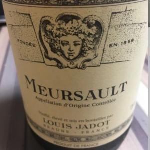LOUIS JADOT MEURSAULT (ルイ ジャド ムルソー)ワインテイスティング