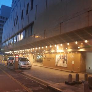 富山のホテルに泊まりました。