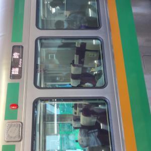 臨時列車は、グリーン車を無料開放
