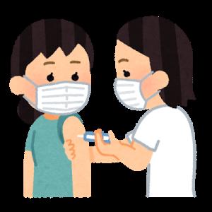 ワクチン接種1回目の副反応について