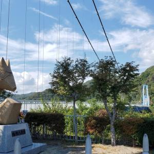 ❝ 竜神大吊橋(後編) ❞ 愛犬とおでかけ-茨城県観光🎵 2021年10月8日③