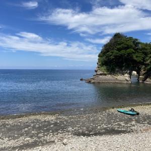 西伊豆へ海水浴
