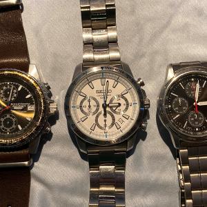 3本目の時計を買おう。ムスメ用を。ヤフオクだけど。